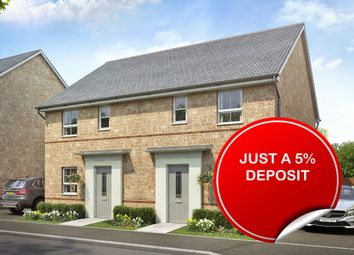 "Thumbnail 3 bedroom end terrace house for sale in ""Folkestone"" at Ponds Court Business, Genesis Way, Consett"
