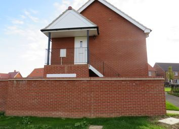 Thumbnail 1 bed flat for sale in Shotesham Road, Poringland, Norwich
