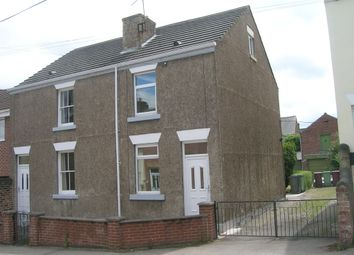 Thumbnail 2 bed semi-detached house to rent in Queen St, Eckington