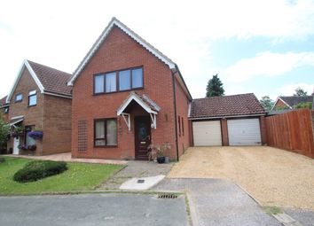 Thumbnail 3 bed detached house for sale in Manor Road, Martlesham Heath, Ipswich