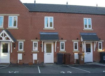 Thumbnail 2 bed town house to rent in Moray Close, Church Gresley, Swadlincote
