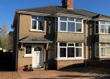 Thumbnail 3 bed semi-detached house for sale in Broadway, Exeter