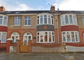 Thumbnail 3 bed terraced house for sale in Wesley Grove, Portsmouth