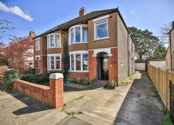 Thumbnail 4 bed semi-detached house for sale in St Angela Road, Heath, Cardiff