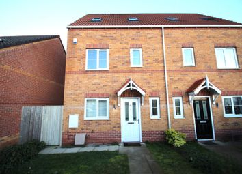 Thumbnail 4 bedroom town house to rent in Thornham Meadows, Goldthorpe, Doncaster, South Yorkshire