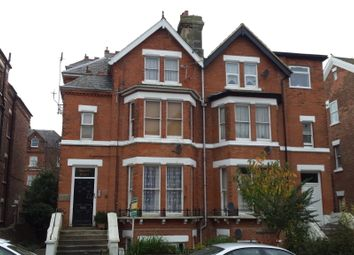 Thumbnail 1 bed flat to rent in Christ Church Road, Folkestone