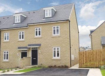 "Thumbnail 3 bed semi-detached house for sale in ""Nugent"" at Manywells Crescent, Cullingworth, Bradford"
