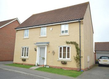 Thumbnail 4 bedroom detached house for sale in Beckside, Horsford, Norwich