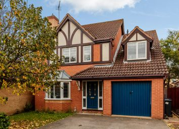 Thumbnail 4 bedroom detached house for sale in Falcon Drive, Huntingdon, Cambridgeshire