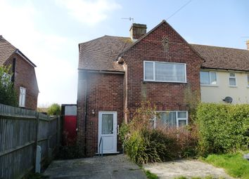 Thumbnail 3 bedroom semi-detached house for sale in Mountbatten Close, Hastings