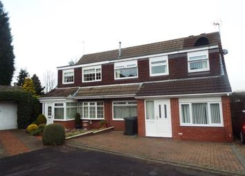 Thumbnail 5 bed semi-detached house for sale in Hersham Close, Newcastle Upon Tyne, Tyne And Wear, .