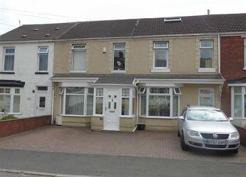Thumbnail 4 bed terraced house for sale in Margam Avenue, Swansea, Swansea