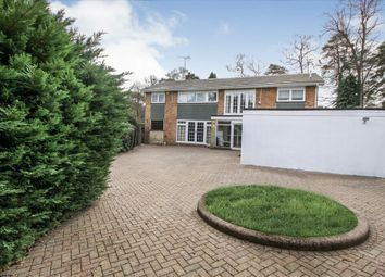 Thumbnail 5 bed detached house to rent in Goldney Road, Camberley
