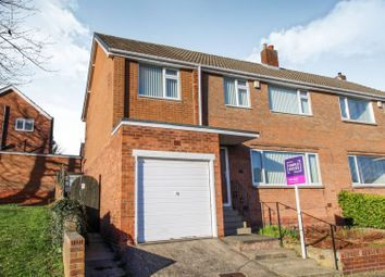 Thumbnail 4 bed semi-detached house for sale in Broomy Hill Road, Newcastle Upon Tyne