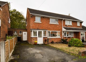 Thumbnail 3 bed semi-detached house for sale in Foxlydiate Crescent, Batchley, Redditch