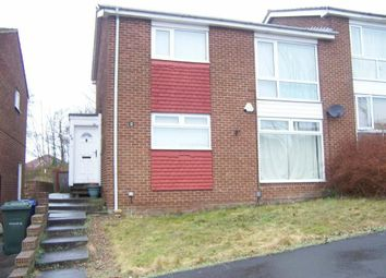 Thumbnail 2 bed flat to rent in Combe Drive, Newcastle Upon Tyne