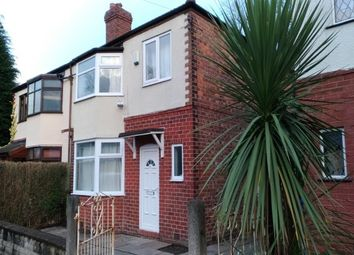 Thumbnail 3 bed semi-detached house to rent in Bentley Road, Chorlton Cum Hardy, Manchester