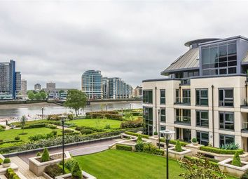 Thumbnail 3 bed flat for sale in Lensbury Avenue, London