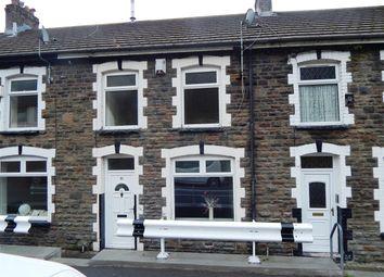 Thumbnail 3 bed terraced house to rent in Edward Street, Maerdy, Ferndale