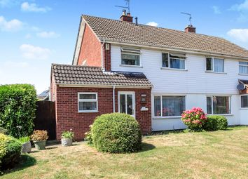 Thumbnail 3 bed semi-detached house for sale in Enfield Gardens, Peterborough
