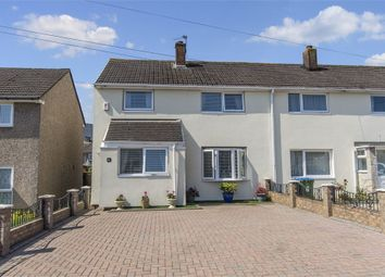 Thumbnail 3 bed end terrace house for sale in Grateley Close, Weston, Southampton, Hampshire