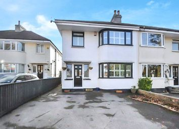 Thumbnail 3 bed semi-detached house for sale in Station Road, Lower Parkstone, Poole, Dorset