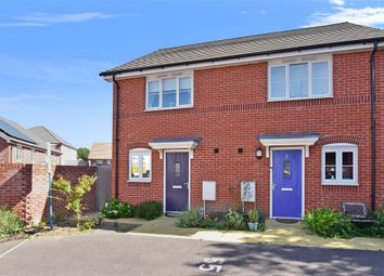 Thumbnail 2 bedroom semi-detached house for sale in Willowbrook Close, Herne Bay, Kent