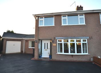 Thumbnail 4 bed semi-detached house for sale in Reynards Rise, Loggerheads, Market Drayton