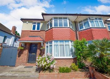 Thumbnail 3 bed semi-detached house for sale in Summit Way, Southgate, London, .