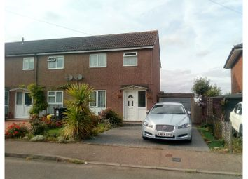 Thumbnail 2 bed semi-detached house for sale in Shenleybury, Radlett