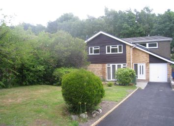 Thumbnail 4 bed detached house to rent in Badbury Close, Broadstone