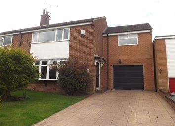 Thumbnail 4 bed semi-detached house to rent in Dalesford Crescent, Macclesfield