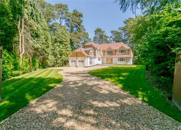 Thumbnail 5 bed detached house for sale in Forest Drive, Lower Bourne, Farnham, Surrey