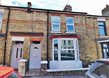 Thumbnail 2 bed terraced house for sale in Fernbank Crescent, Folkestone