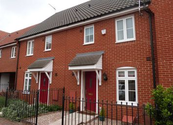 Thumbnail 3 bedroom terraced house to rent in Turing Court, Grange Farm, Ipswich