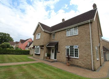 Thumbnail 4 bed detached house for sale in Martin House, Stoke Road, Leavenheath