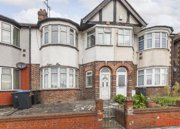 Thumbnail 3 bed terraced house for sale in North Circular Road, Palmers Green, London