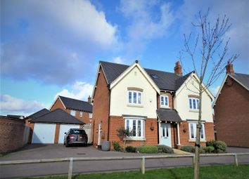 5 bed detached house for sale in Bosworth Way, Anstey, Leicester LE7