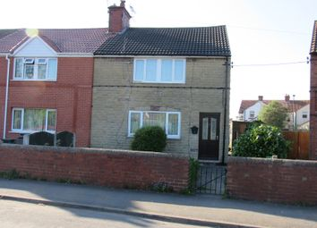 Thumbnail 3 bed end terrace house for sale in Fowler Crescent, Rossington, Doncaster