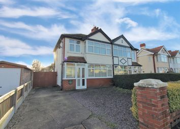 Thumbnail 3 bed semi-detached house for sale in Luton Road, Cleveleys