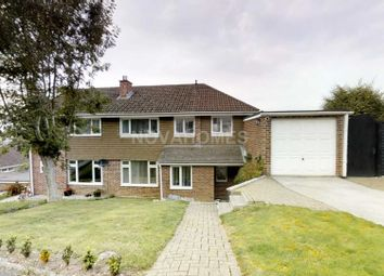 Thumbnail 4 bed semi-detached house for sale in Longwood Close, Plympton, Plymouth