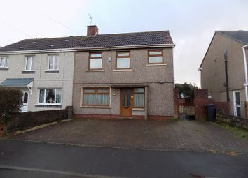 Thumbnail 3 bed semi-detached house for sale in Silver Avenue, Port Talbot, Neath Port Talbot.