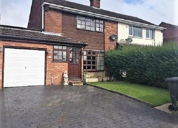 Thumbnail 2 bed semi-detached house to rent in Hollybank Avenue, Essington, Wolverhampton