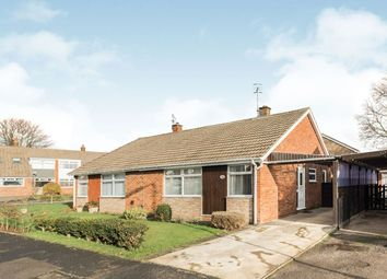 Thumbnail 2 bed bungalow for sale in Stapleton Close, Seamer, Scarborough