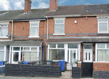 Thumbnail 2 bed terraced house for sale in Duke Street, Heron Cross, Stoke-On-Trent