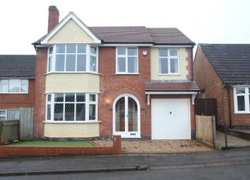 Thumbnail 4 bed detached house for sale in James Street, Anstey, Leicester