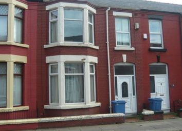 Thumbnail 4 bedroom terraced house for sale in Alderson Road, Wavertree, Liverpool