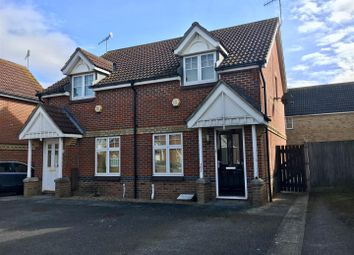 Thumbnail 2 bed semi-detached house for sale in Gordon Close, Ashford