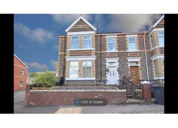Thumbnail 4 bedroom end terrace house to rent in Morden Road, Newport