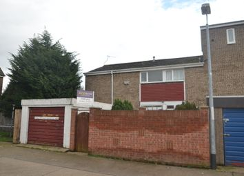 Thumbnail 3 bed end terrace house for sale in Perran Close, Bransholme, Hull